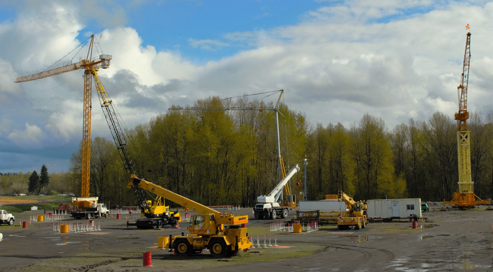3 Tower Cranes - NCCCO Crane Operator Training